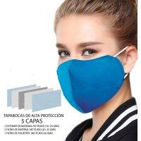 Tapa Bocas Industrial Proteccion 5 Capas