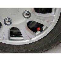 Tapa Válvula Neumáticos Pasta Colores Surtidos x5und