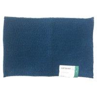 Tapete Piso Baño Shaggy Mf 40X60 Oi18 Azul