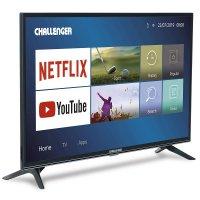 "Televisor Challenger 40"" LED FHD Plano 40tl49 Smart Negro"