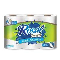Toalla Rosal  270 Hojas Triples