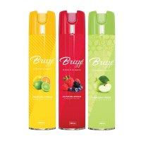 Tripack Ambientador Manzana Verde Frutos Bosque Fresca Citrus x360ml