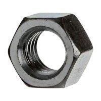 "Tuerca 1/4"" Hexagonal Zincado x50und"