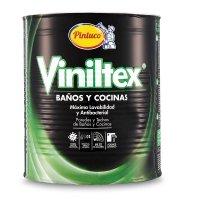Vinilo Baños Cocinas Acrílica Blanco Satinado x1gal