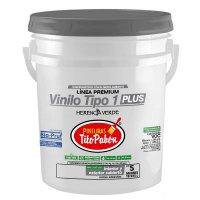 Vinilo T1 5gl Blanco Mate Tito Pabon