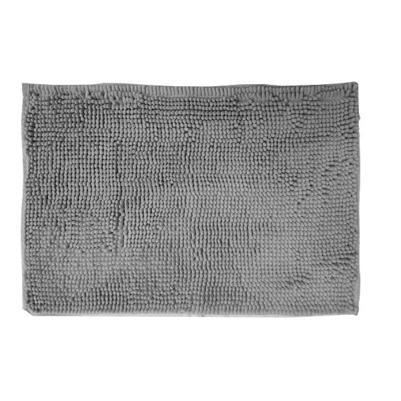 Alfombra Shaggy Element Baño 40X60 DIB Gris Plata