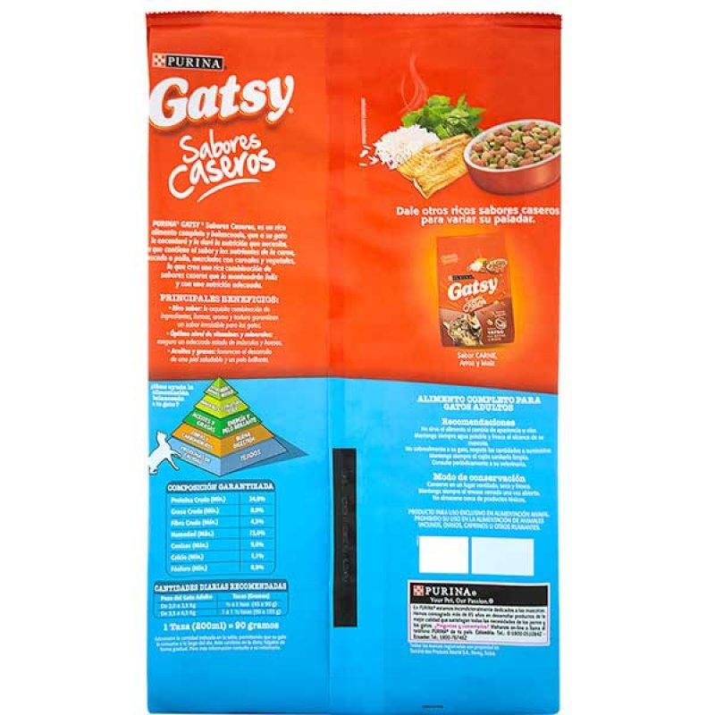 Alimento para Gatos Gatsy adulto pescado x 500 gr