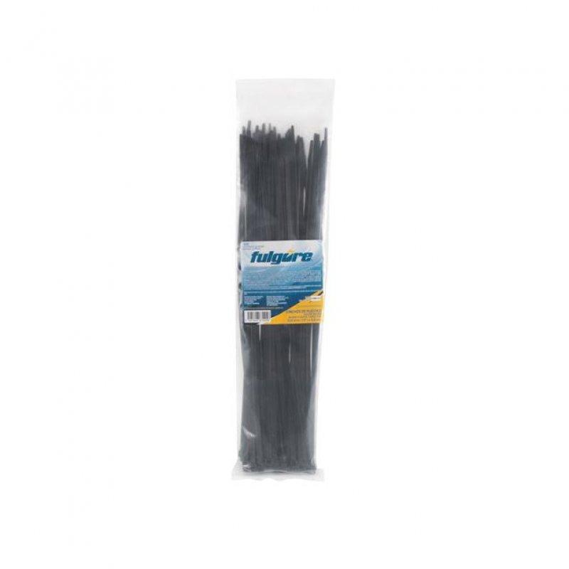 Amarre Plastico Negro 3.5Mmx15Cm 50Pzs