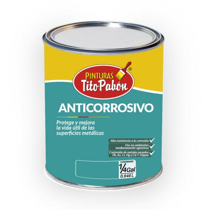 Anticorrosivo Blanco x1/4 gal Tito Pabón