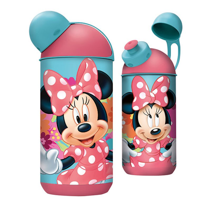 Botella Ergo Capsula Minnie Bloom 400Ml