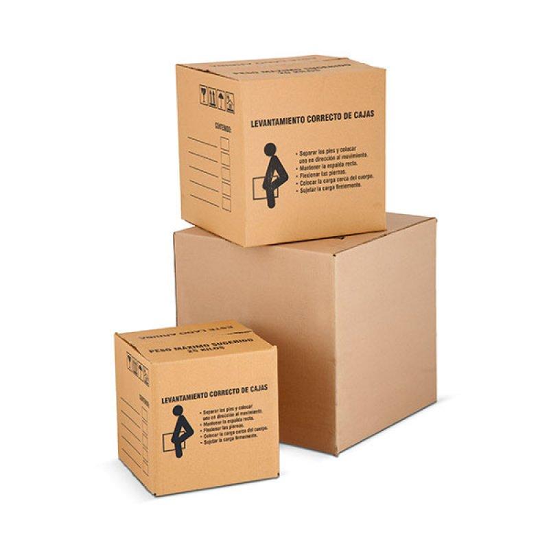 Caja Cartón 51 cm x 51 cm x 51 cm