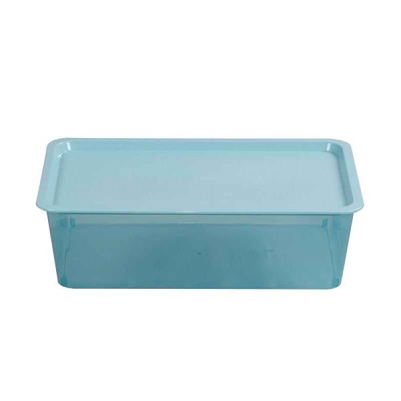 Caja Plástica Promocional Azul 13 Litros