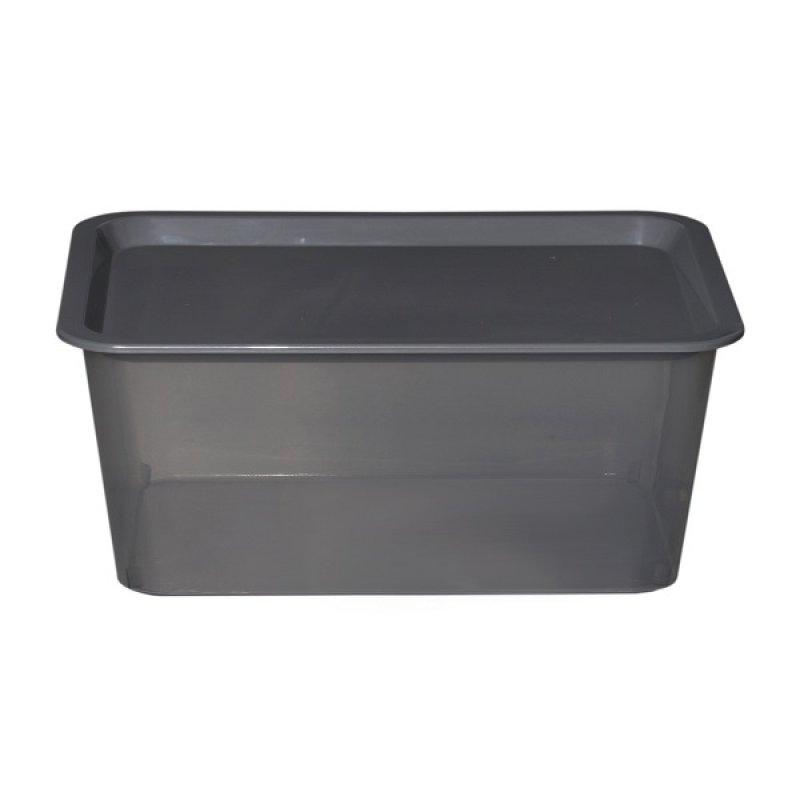 Caja Plástica Promocional Gris 6 Lts