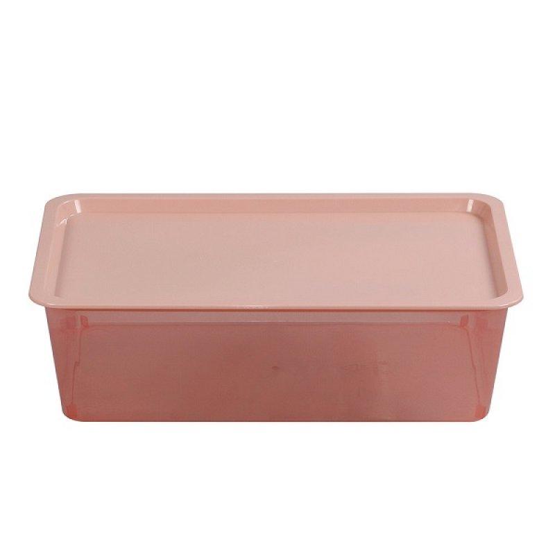 Caja Plástica Promocional Salmon 13 Litros