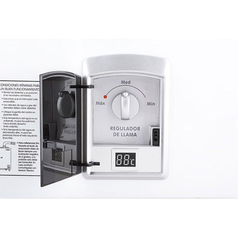 Calentador Haceb 10Lt Tiro Natural Gas Natural