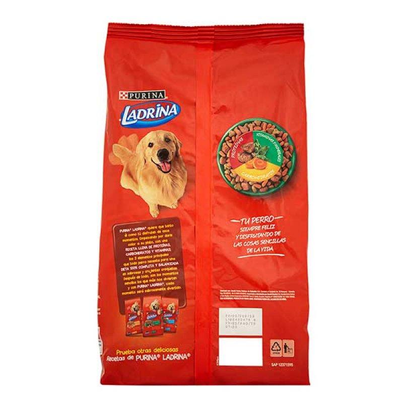 Comida para perro Ladrina adulto carne a la parilla x 4 kg