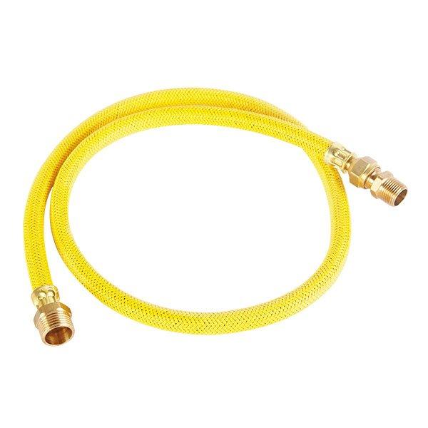 """Conector 1/2"""" x 3/8"""" AG2-D100 Gas Flexo Metálico"""
