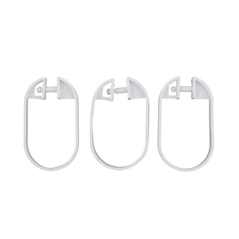 Cortina Impermeable 200 cm x 180 cm Cuadros Blancos Negros Baño Poliéster
