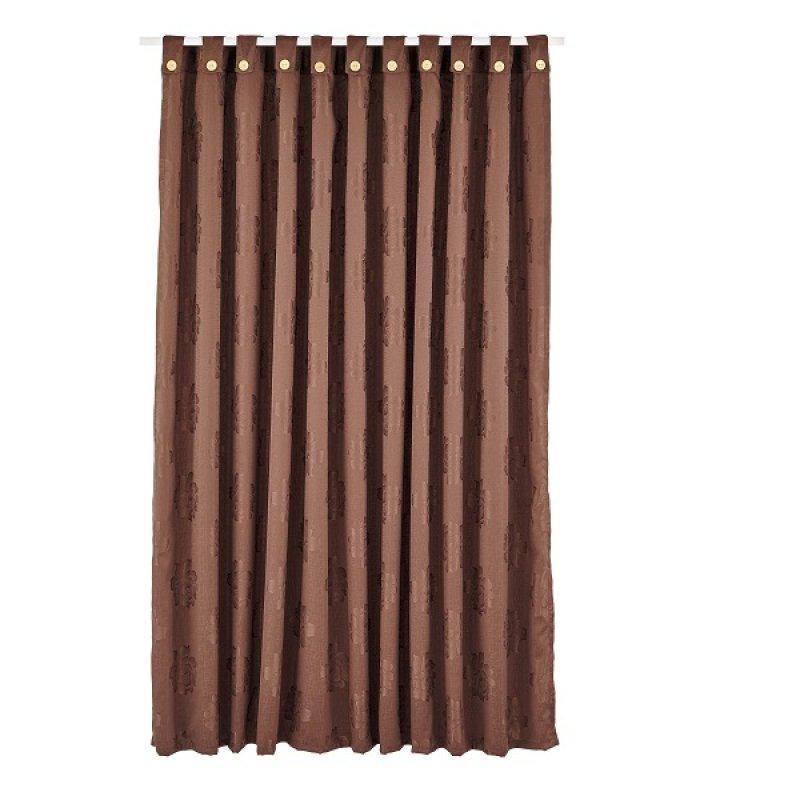 Cortina Mix 270X220Cm Chocolate