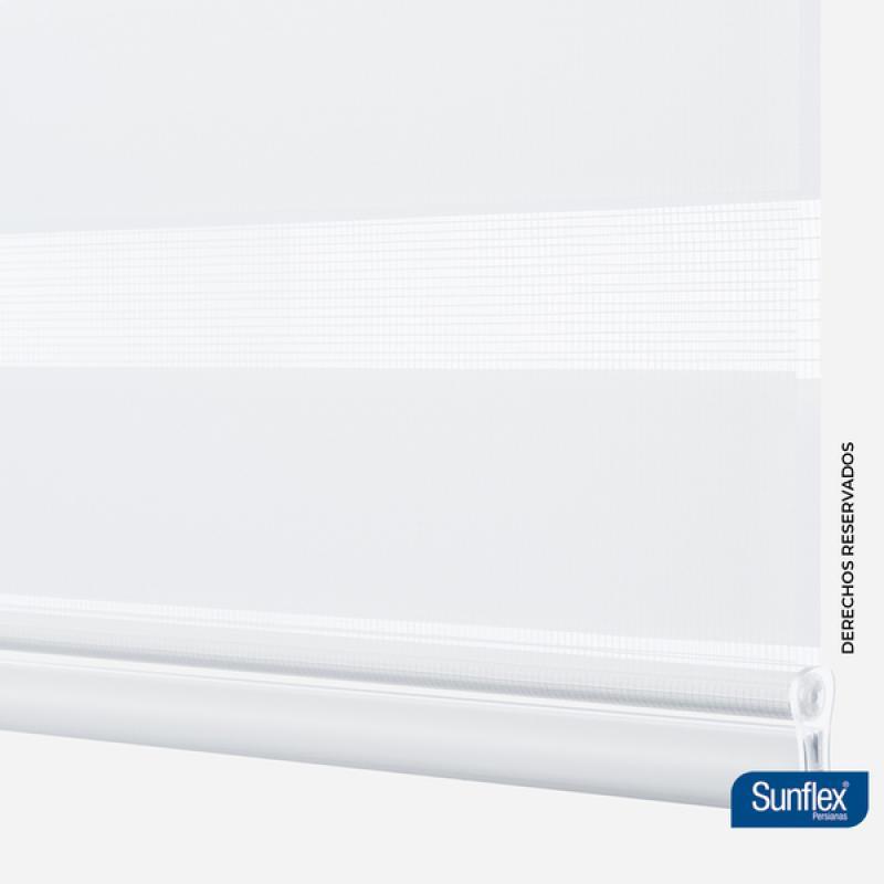 Cortina Enrollable Roller Dúo 140x230 Alabaster Sunflex
