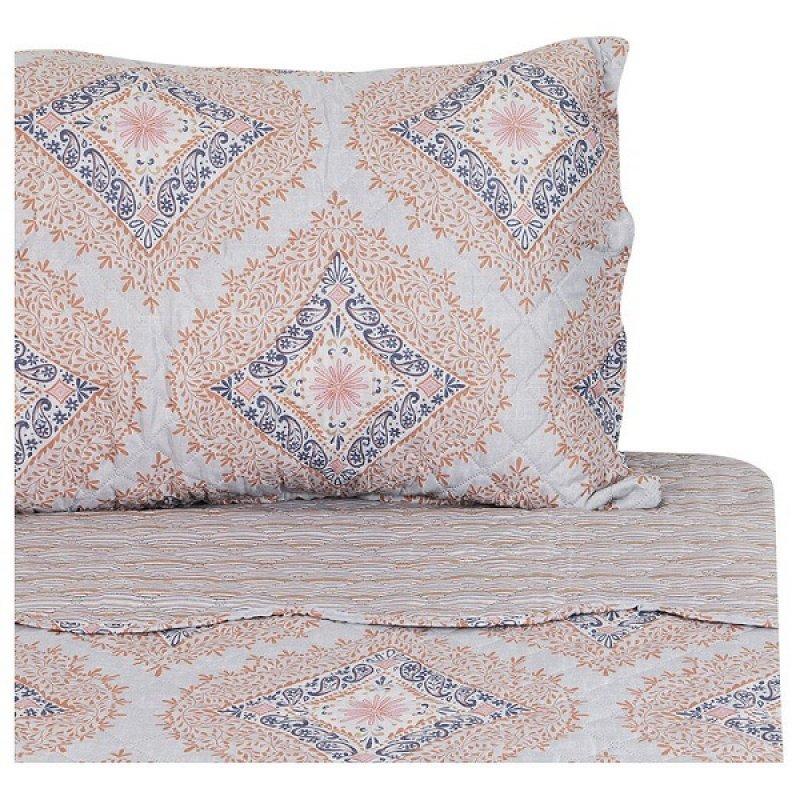 Quilt Estampado Heatpress Diseño 2 Semidoble