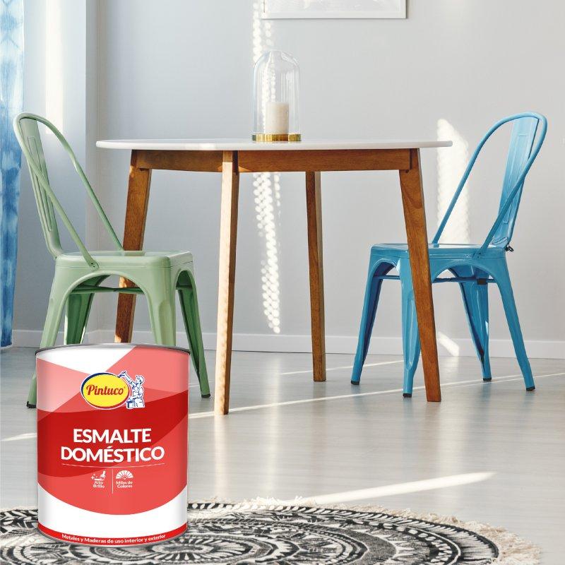 Esmalte Doméstico Acabado Superior Blanco x1/4 gal