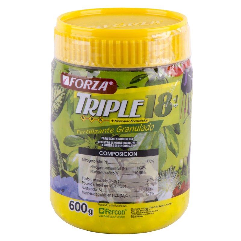 Fertilizante Granulado Triple 18 x600g