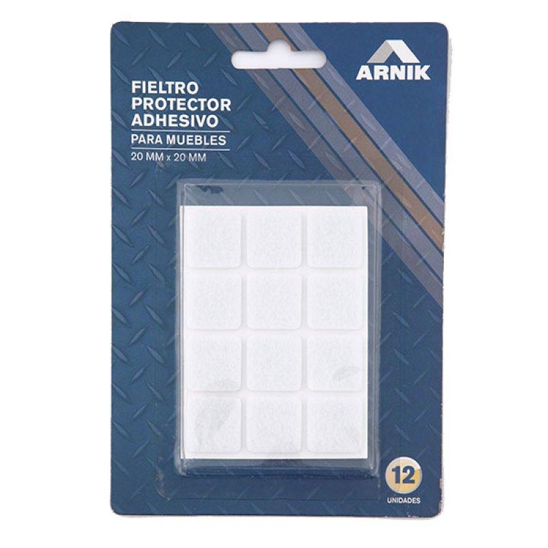 Fieltro Protector 20X20Mmx12Un Arnik