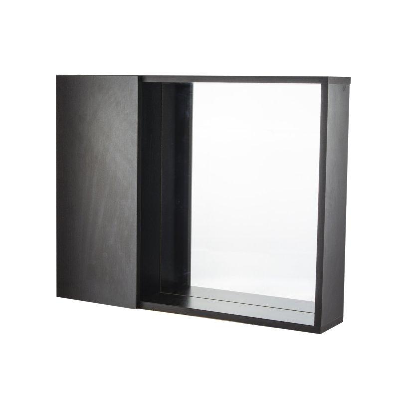 Gabinete 53 cm x 42 cm MUGB0048 Espejo Puerta Wengue