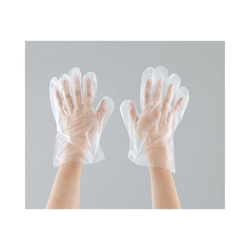 Guante Plástico Work x50 pares