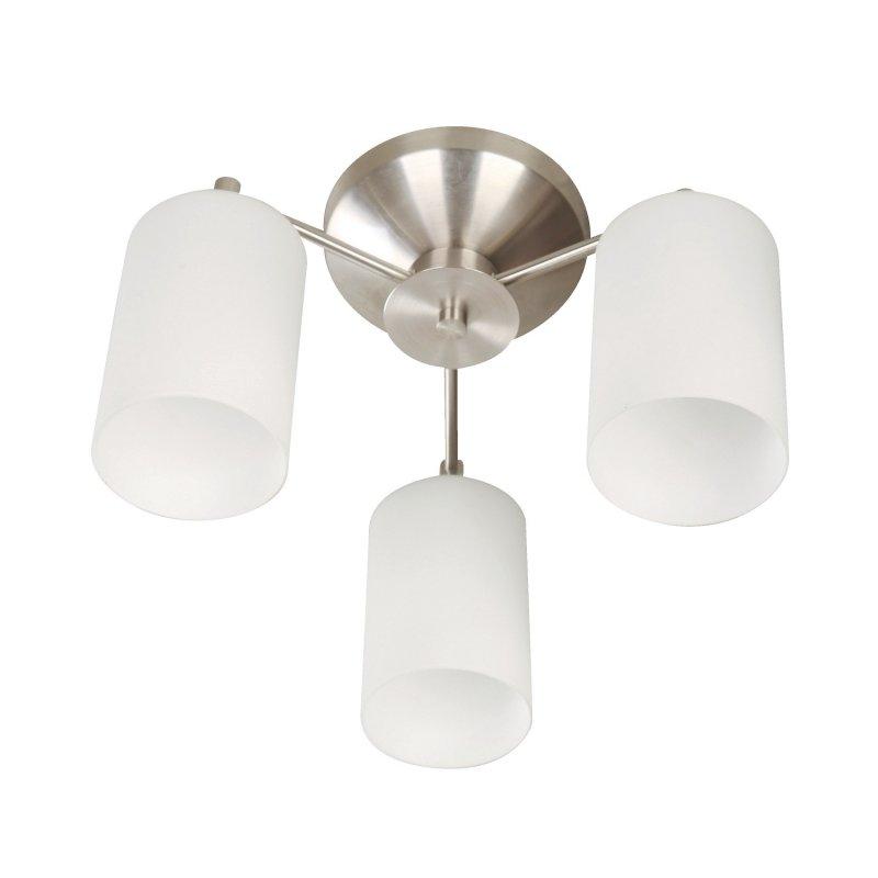 Lámpara de Techo Niquel 3 Luces E27 40W