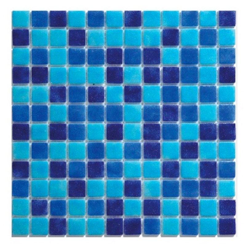 Malla Oasis Azul Antislip 31,7X31,7
