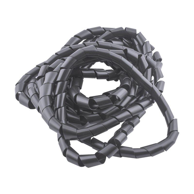 """Manguera Espiral Cables 3/4"""" ES2MG2AH35 Negra x5m"""