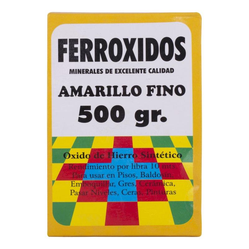 Mineral Corriente Ferróxido Amarillo x500g