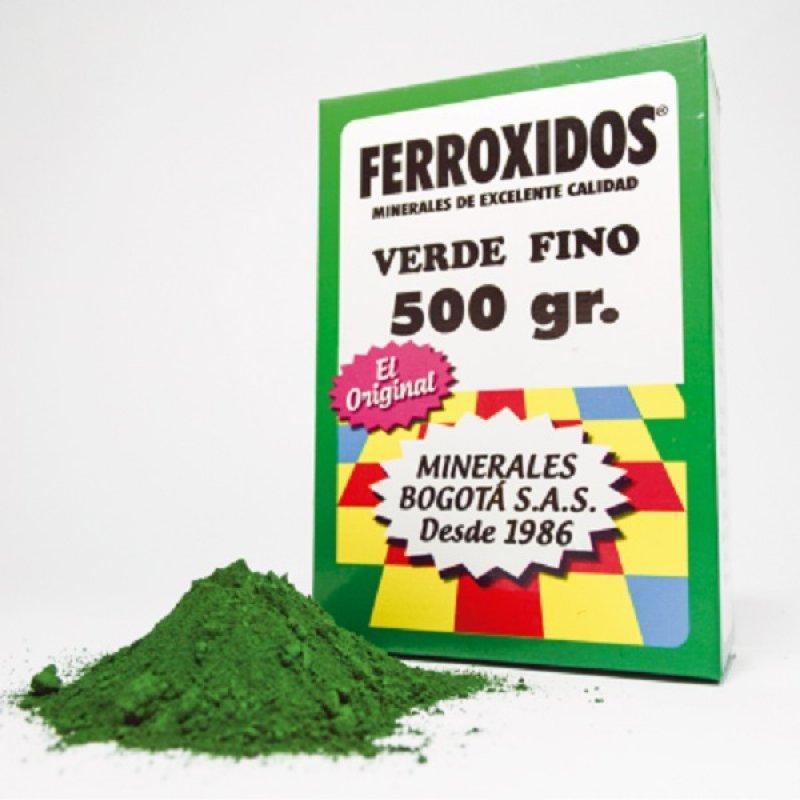 Mineral Corriente Ferroxido Verde X 500gr