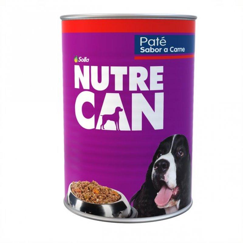 Nutrecan Pate Sabor a Carne alimento húmedo X 300 g