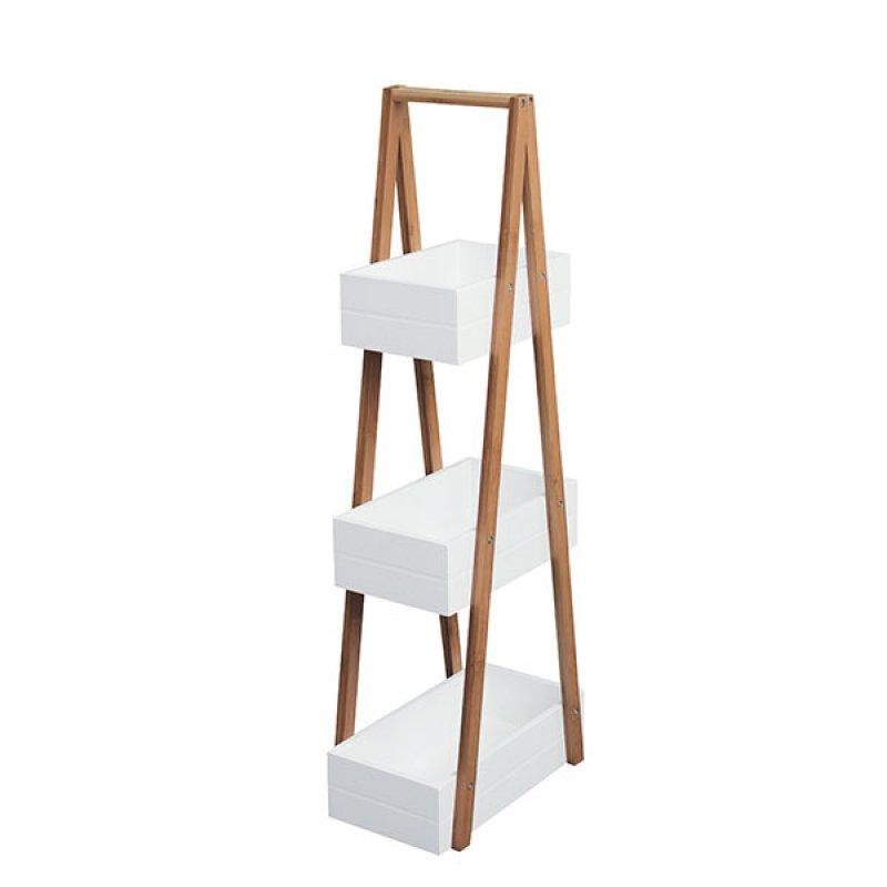 Organizador Repisa Con Borde Bamboo