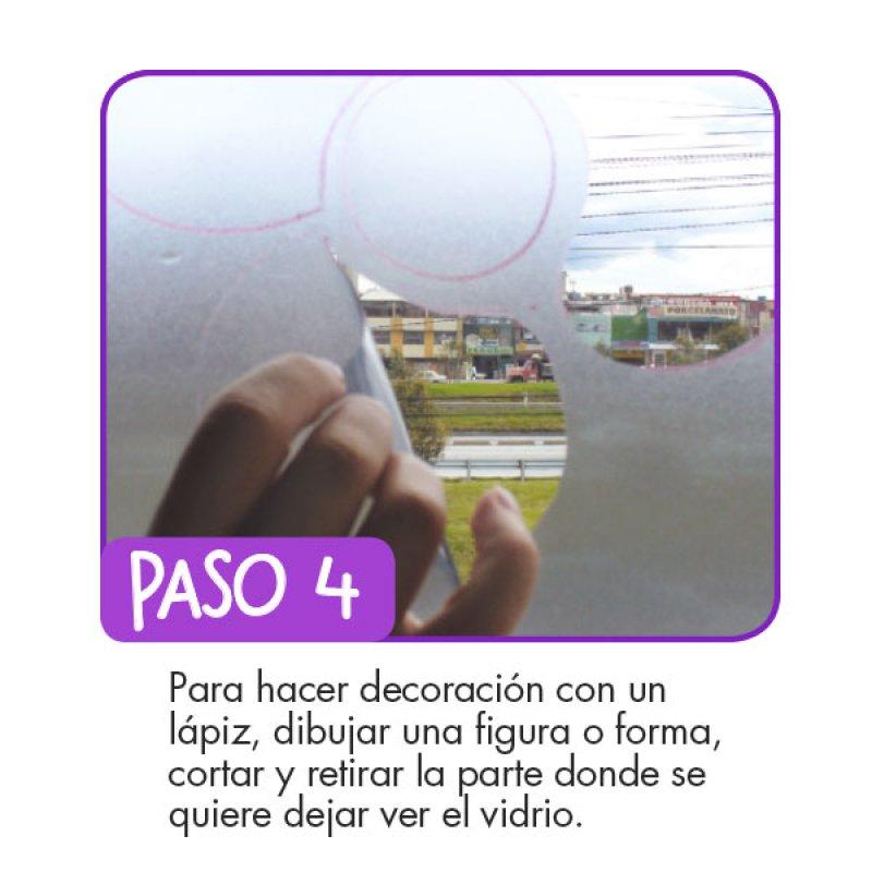 Película 122 cm Adhesiva Decorativa Rasguños