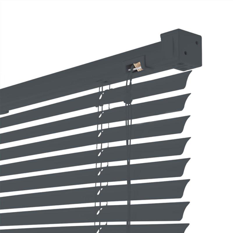 Persiana Horizontal de PVC 100x150 Gris Sunflex