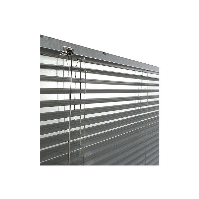 Persiana Mb Aluminio 25 mm 100X165Cm Gris