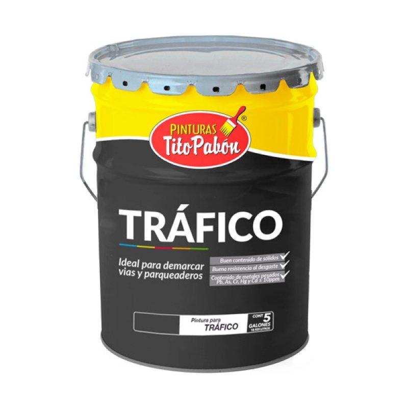Pintura Tráfico 5Gl Amarillo