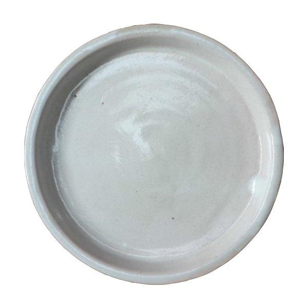 Plato Esmaltado 15 cm Crema
