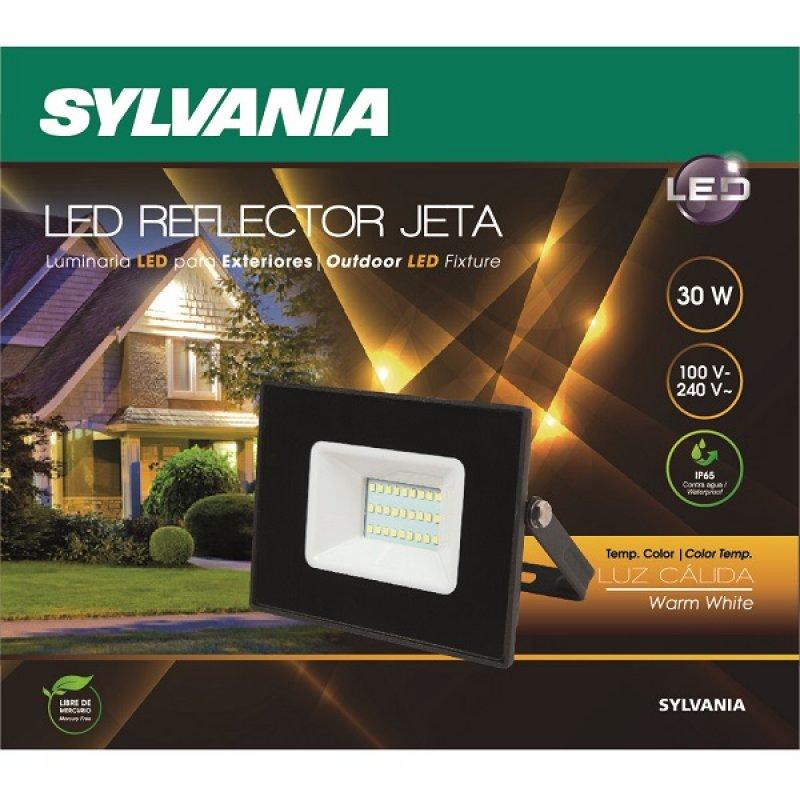 Reflector Led 30 W 2400 Lúmenes Luz Cálida Sylvania