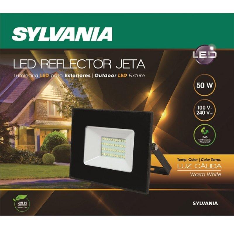 Reflector Led 50 W 3700 Lúmenes Luz Cálida Sylvania