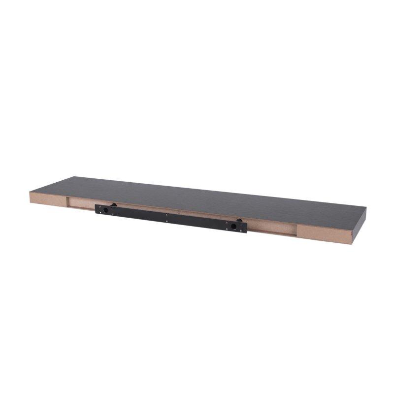 Repisa Flotante 100 cm x 23.5 cm x 3.8 cm Albert Gloss Chocolate