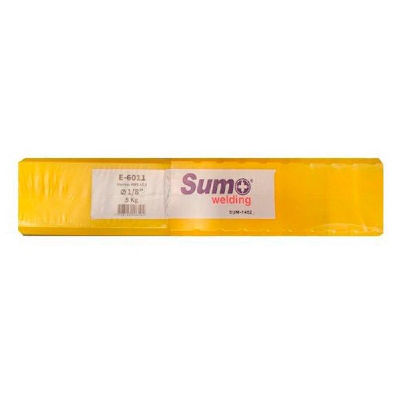 """Soldadura Sumo Welding E6011 1/8"""" C/AMAR x5kg"""