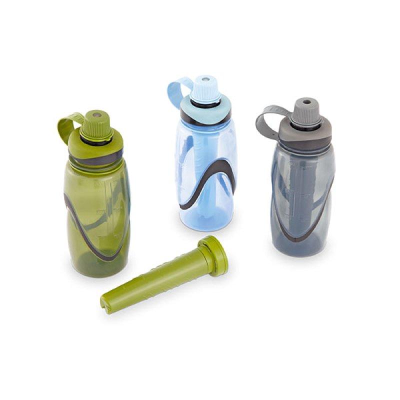 Termo Hidratación con Tubo Hielo Recargable x700ml
