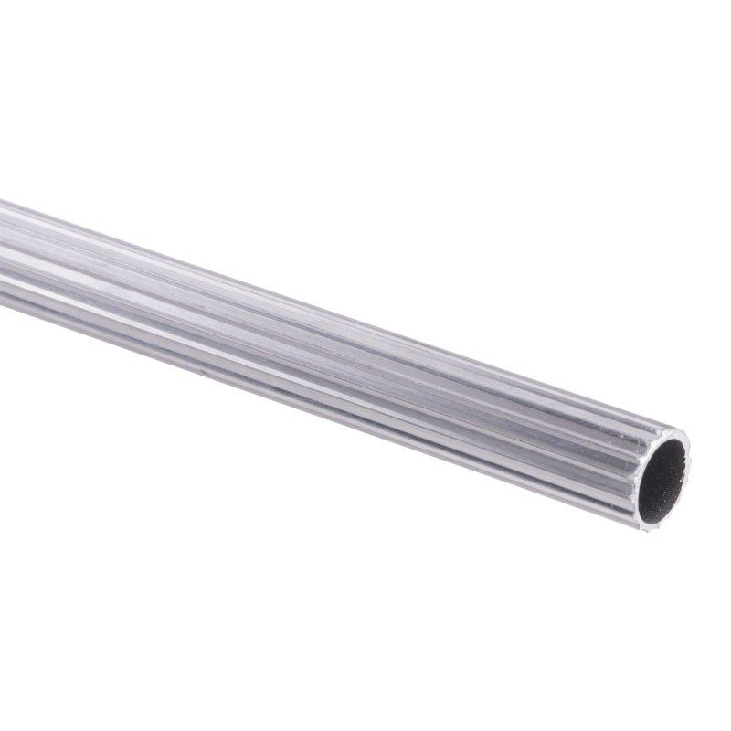 "Tubo Aluminio Ranurado 1/2"" 2,5 Mt Croma"