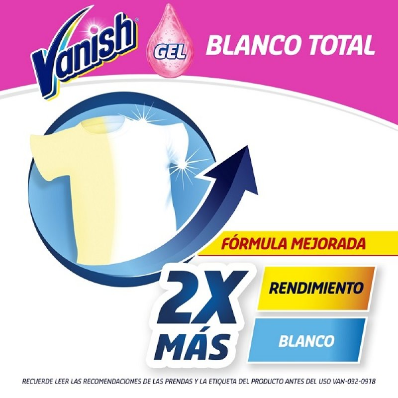 Vanish Liq Blanco 900ml
