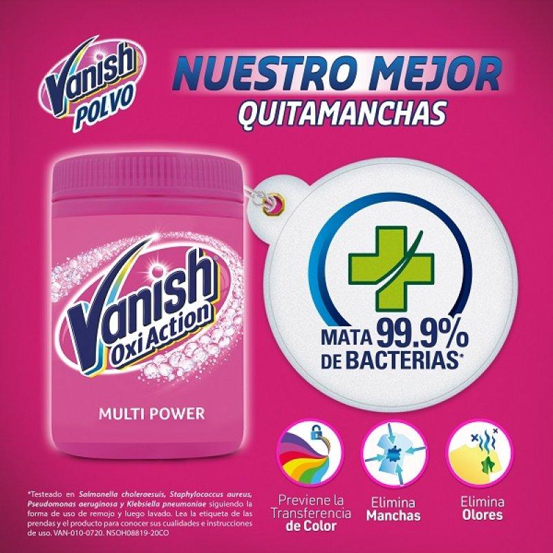 Quitamanchas Vanish Pink Gold 850 Gr